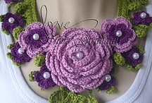Crochet flowers / Have fun sharing! / by Kathy Davenport