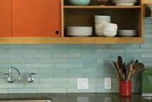mid century kitchen / by Sarah Ehlinger / Very Sarie