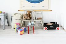Space: little boys play room