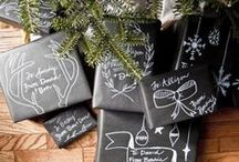 Black & White Christmas Inspiration / Inspiration for Black and White Christmas and Holiday decor, parties and events