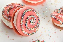 Cookies | Bars | Whoopie Pies / Cookies & Meringue & Square Bars / by Amy Yuangbhanich