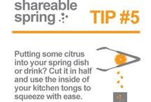 Shareable Spring Tips / We wanted to kick spring off right with 8 Shareable Spring tips to make the season better. Try out some of these handy lifehacks/protips for yourself!