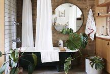 Home Decor: Bathroom / Home Decor ideas and inspiration for Bathrooms / by Sarah Ehlinger / Very Sarie