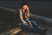 Seniors / LAYER. Add hats, scarves, bracelets, legwarmers, necklaces, headbands, beanies... Bring props that will make your session stand out. See something you like? Send it my way beforehand: kimsingerphoto@mac.com!