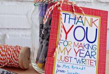Teacher Gifts Ideas / Fun teacher gifts ideas!