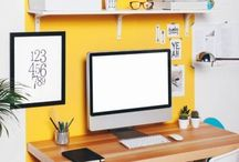 Home Office / Ideas for the design, decor and organization of a home office.