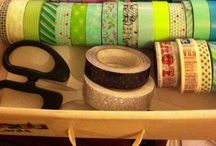 Washi! / All things washi: pretty tapes, craft ideas, my projects and inspiration.