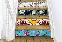 Decorating & DIY: Wallpaper / DIY ideas and inspiration for using Wallpaper in Home Decor
