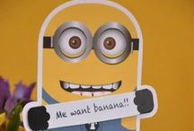 Minions partyyy / tips party minions décor cake