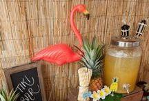 beach partyyyy / beach décor food kids