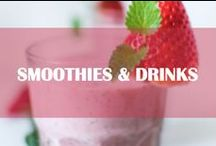 Smoothies and drinks / Best smoothies and drinks, nutritious and easy to make