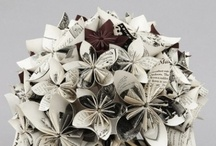 origami wedding / A folded paper wedding.