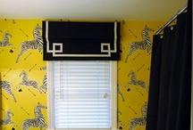 Window Treatments / Interior Design Home Decor
