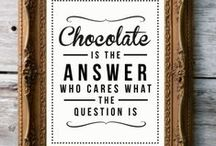 CHOCOholic~ / Hello my name is Tina and I AM A CHOCOholic! Please check out my board and see other chocolate favorites on my SWEET TREATS Board~ / by Tina