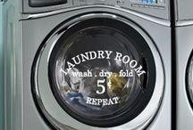 Wash 'N Dry / Laundry ideas and organization
