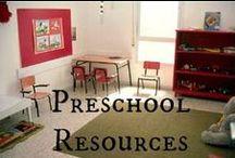 Homeschool: PreK / by Rachel Bradley