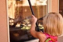 Clean House / Cleaners and cleaning ideas for home.