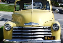 Old Cars & Trucks! / When we go on road trips my husband and I are always on the look out for Old Cars and Trucks.  / by Tina Breen