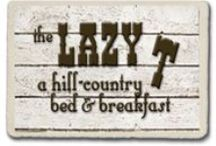 The Lazy T B and B / Great pictures of the Lazy T, sunsets, flowers and historical surroundings.  Also, fun adventures in the Texas Hill Country. / by Lazy T B and B