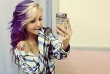 Purple Hair for Epilepsy / Epilepsy Awareness!
