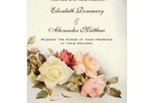 Wedding Invitations Examples / Cool Wedding Invitations Examples / by Custom Creation