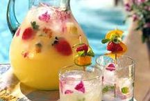 Drinks Drinks Drinks / Creative drink ideas for parties, relaxing and entertaining.