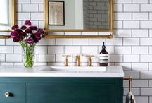 Bathroom Design Inspiration / Good looks from tile to color to fixtures
