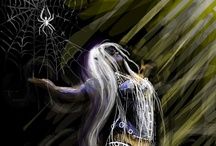 Drow / All the faces of darkness... Dark Elves, Drows, Ilythiiri.