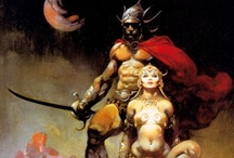 Frank Frazetta / Life giver to Conan, Tarzan, John Carter and many others.