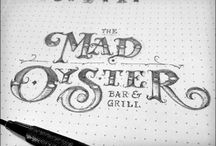 Lettering Arts / Calligraphy, Fonts, Hand drawn letters, Letterpress