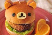 Creative Cooking For Kids / Healthy food snacks, meals, bento-box lunches for home, school, classroom, special events, and every day! Fun animal and imagination creations for kids to both make and eat!