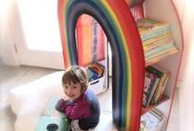 Kids Room Design / Ideas for spaces and places for kids of all ages!