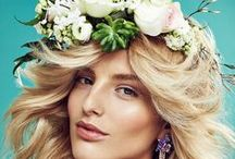 Flower me Beautiful / Editorials, Campaigns, Catwalk, Detail and everything else made beautifully with flowers