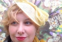 Hats - MissKittenheel's Own / My hats, fascinators and headpieces. Vintage, new and made by me.