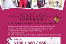 Milanoo Contests & Activities / Here are all milanoo parties and contests, please join in and win special prize / by Milanoo