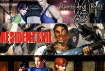 Resident Evil / T-virus, G-virus, B.O.W, Las plagas, C-virus and more..!