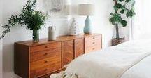 Chambre | Bedroom inspiration / Retrouvez ici ma sélection des plus insiprantes photos et ambiances pour le décoration de ma chambre...