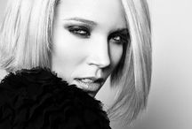 Black & White Fashion Photography / Bold makeup for b&w photography
