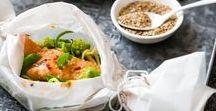 Recettes de poisson | fruits de mer / Retrouvez ici ma sélection des meilleures et plus belles recettes de poissons et fruits de mer ♥