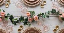 Art de la table / Nous partageons ici toutes les idées qui nous inspirent pour réaliser une belle table afin de partager de bons moments et recevoir nos proches dans une ambiance simple, épurée et apaisante...