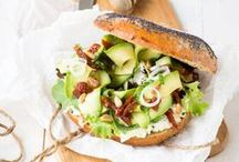 Recettes de burger | sandwich | wrap / Retrouvez ici ma sélection des meilleures et plus belles recettes de burgers et sandwichs. ♥