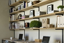 create rooms / ideas for a efficient and appealing work room / by Jenna Graviss