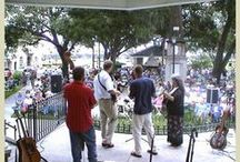 Concerts in the Park / The best way to spend a Thursday night in St. Augustine!   Reminiscent of days gone by when friends and families would gather in the early evening to listen to music in the town square, Concerts in the Plaza brings a wide variety of musical entertainment to St. Augustine's historic downtown all summer long. Bluegrass and blues, jazz and country, swing and folk, old time and popular rock: Concerts in the Plaza has something for everyone.   / by St Francis Inn Bed & Breakfast