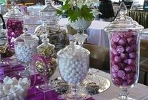 Candy Buffets / I think every party should have a candy buffet!  You can make them sophisticated or just plain fun!   / by Tanya Gallagher-Rivera