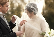 Downton - Wedding style / Celebrating the anticipated 3rd season and the wedding of Lady Mary to Matthew Crawley