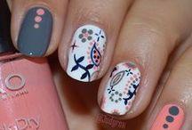 Cute nails / Awesome nail designs. Great nail polish colors. Designs for natural and acrylic nails.