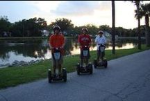 Segway Through History / As our mid-week guest, capture the spirit of old St. Augustine with all your senses by cruising our endless streets of true southern charm. Segways are easy to use and are absolutely the most fun way to explore quaint historic St. Augustine. Tour groups are small, personal and include training. Tours are two hours and depart right here from the St. Francis Inn. / by St Francis Inn Bed & Breakfast