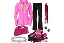 Sporty style / Love me some comfy yoga pants. And tennis clothes.