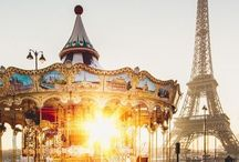 •Mon Voyage à Paris• / I just want to see the Eiffel Tower and speak French with French people.✨ / by Ashley Hays