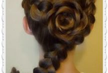 Gorgeous hair / All the things I wish I could do if I had long hair.